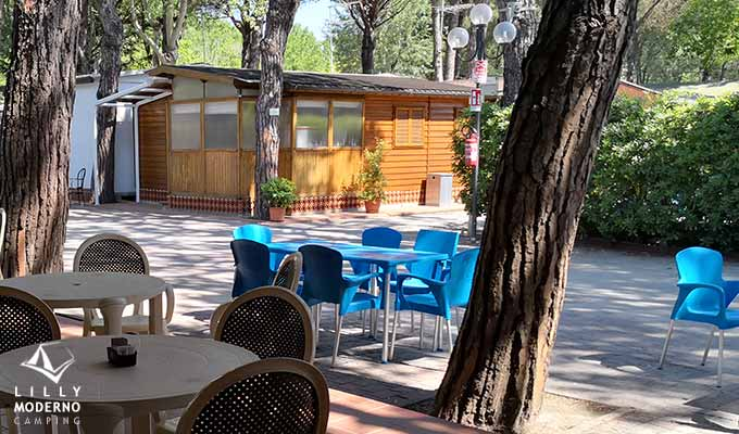 Bar, Minimarket and Swimming Pool Camping Lilly Moderno La Partaccia