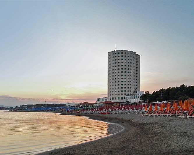 Torre Fiat and Partaccia's beaches