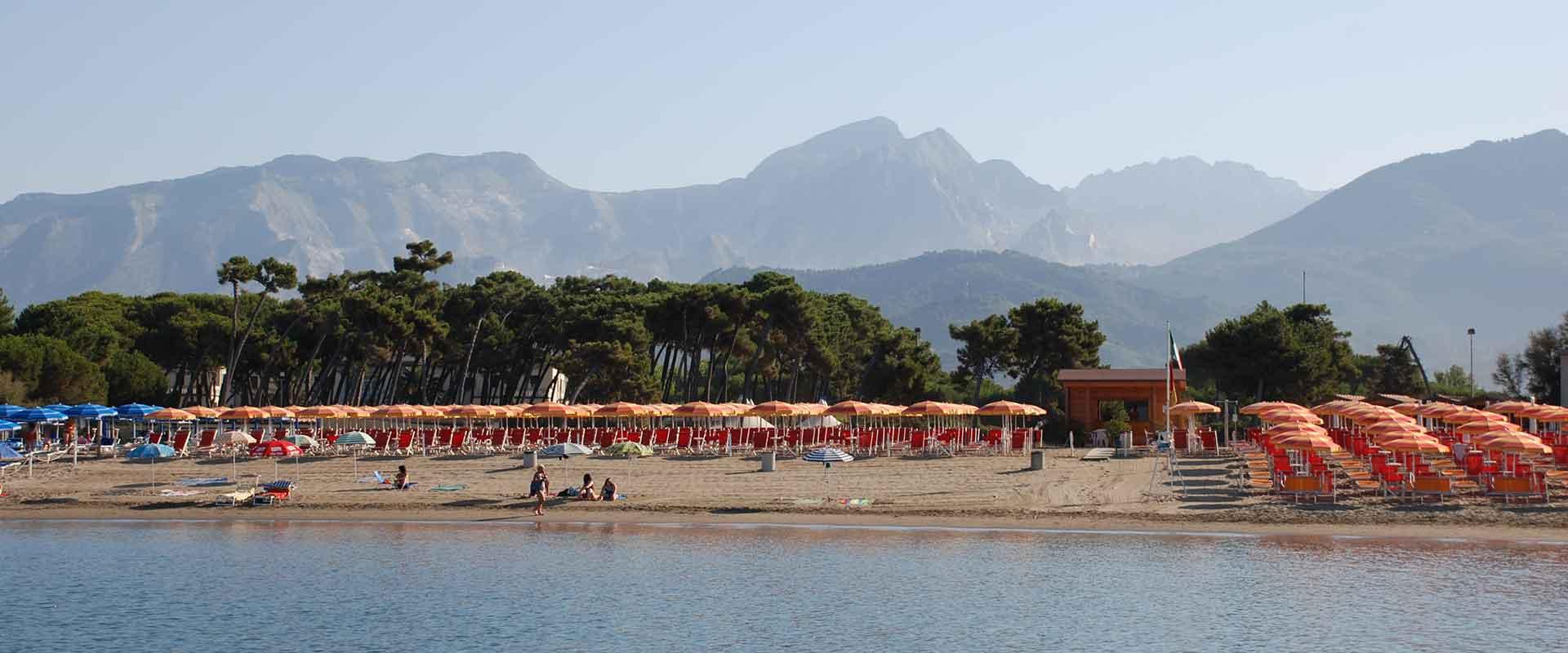 Spiaggia Riservata Camping Lilly Moderno La Partaccia